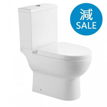 Walrus 120691 相連式自由咀座廁 連緩降廁板