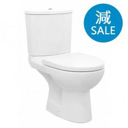 Walrus 120697 相連式高咀座廁 連緩降廁板