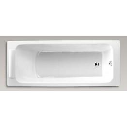 美國 KOHLER Parallel 1875T 生鐵浴缸 無扶手 1500x700x450mm 白色