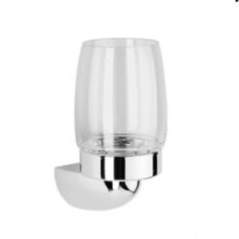 Keuco Arriba 01750019000 玻璃漱口杯連座 (鍍鉻)