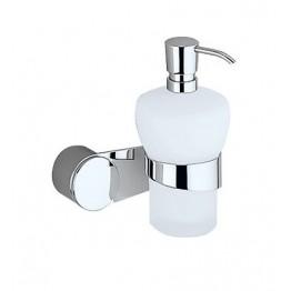 Keuco Amaro 01852019000 肥皂液瓶連座及01901010000面蓋 (鍍鉻)