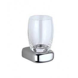 Keuco Mango 03750019000 玻璃漱口杯連座 (鍍鉻)