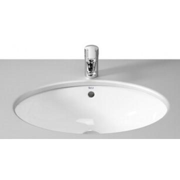 西班牙 ROCA Neo-Selene 327302 橢圓形檯底面盆 520x400x180mm 白色