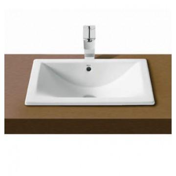 西班牙 ROCA Diverta 327115 檯面/檯底面盆 620x440mm 白色