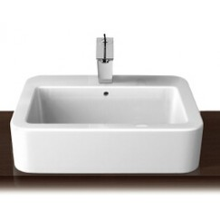 西班牙 Roca Element-S 327576 檯上盆 550x460mm 白色