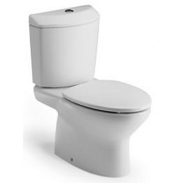 西班牙 Roca Georgia-2 相連式自由咀座廁配油壓廁板