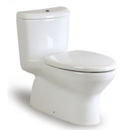 西班牙 ROCA Georgia-1 整體式自由咀坐廁配油壓廁板
