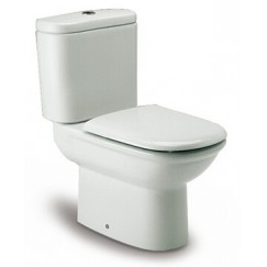 西班牙 ROCA Giralda-2 相連式自由咀座廁配油壓廁板