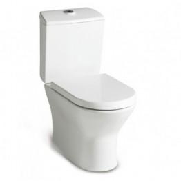 西班牙 ROCA Nexo-2 相連式自由咀座廁配油壓廁板