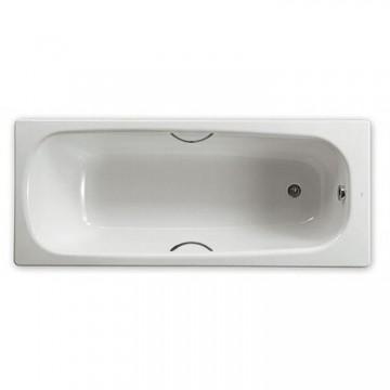 西班牙 ROCA Continental 211516-WTCP 生鐵浴缸連扶手 1200x700 白色