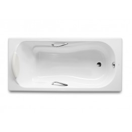 西班牙 ROCA Haiti 2000 233250 扶手生鐵浴缸 1500mmx800mm白色
