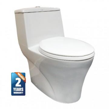 Walrus 110039 整體式自由咀座廁 連樹脂緩降廁板