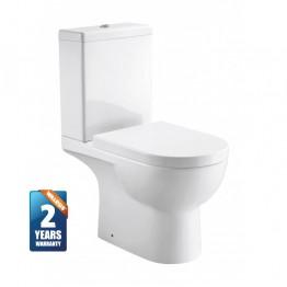 Walrus 120124 相連式高咀座廁 連緩降廁板