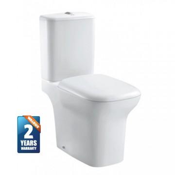 Walrus 120128  相連式自由咀座廁 連緩降廁板