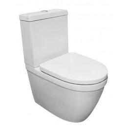 Walrus 120692 碰牆式相連式自由咀座廁 連緩降廁板