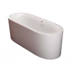 Walrus 311101 獨立式橢圓型纖維浴缸 1700mm X 800mm X 600 mm 白色